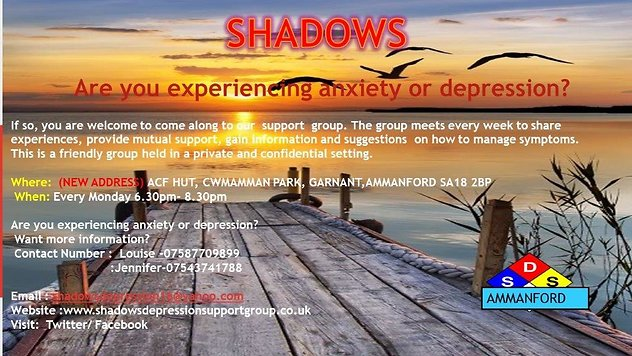 Helplines & Links. Shadows Group